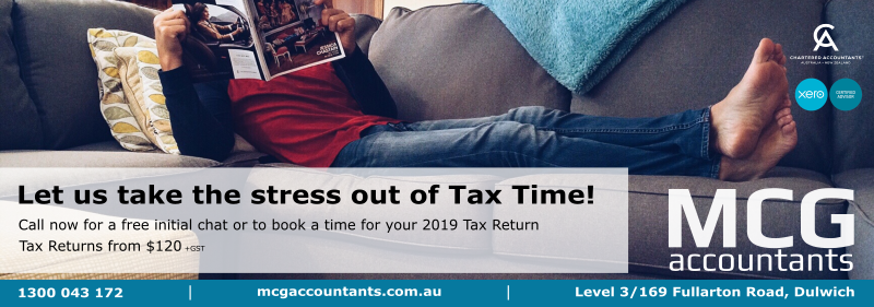 MCG Accountants Adelaide Tax Return 2019
