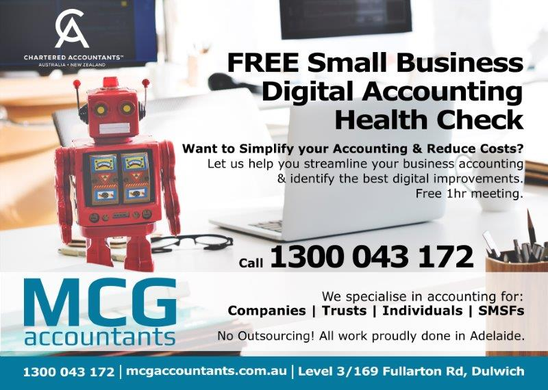 MCG Accountants Digital Accounting Health Check Adelaide